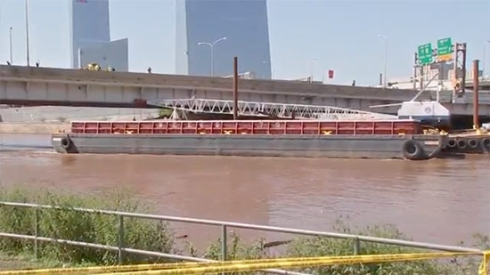 Loose Schuylkill River Barge Wedges on Bridge; Body of Missing 5yo Found; NWS Confirms 6 Tornadoes